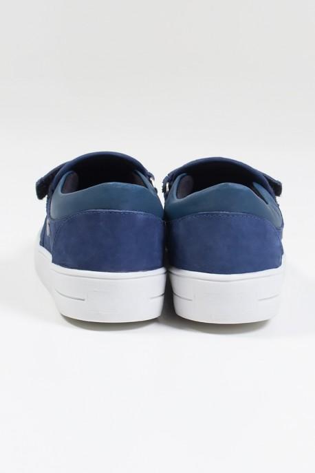 Tênis Mini Sneaker com Velcro (Nobuck Jeans)   Ref: KS-T43-001