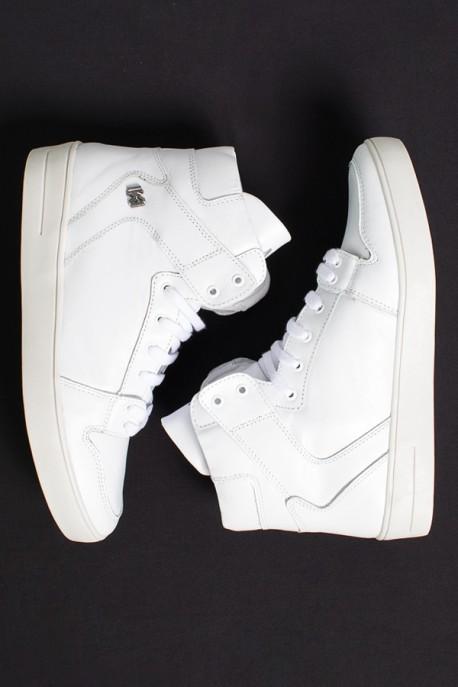 Sneaker Cano Médio (Branco)   Ref: KS-T44-001