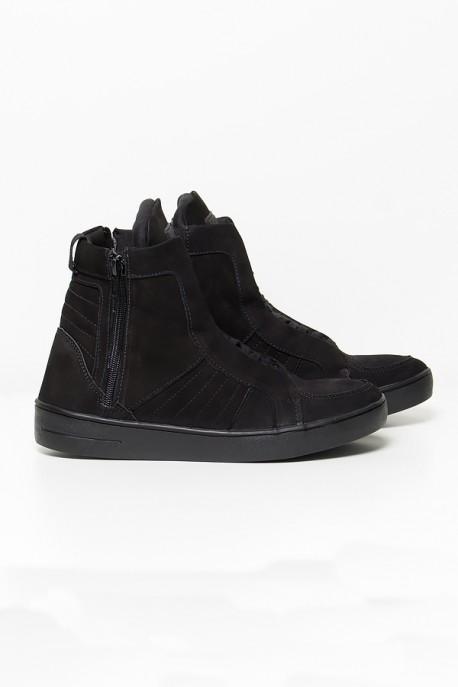 KS-T53-002_Sneaker_Nobuck_com_Fecho_Preto__Ref:_KS-T53-002