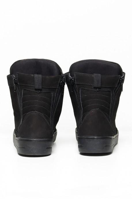 Sneaker Nobuck com Fecho (Preto)   Ref: KS-T53-002