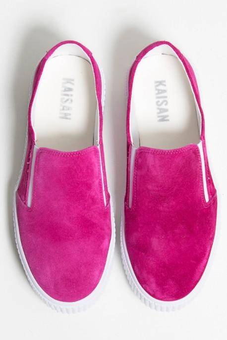Tênis Slipper Camurça (Rosa Pink) 786-05   Ref: KS-T84-001