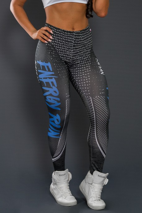Legging Sublimada PRO (Energy Run Blue) | Ref: NTSP35-001