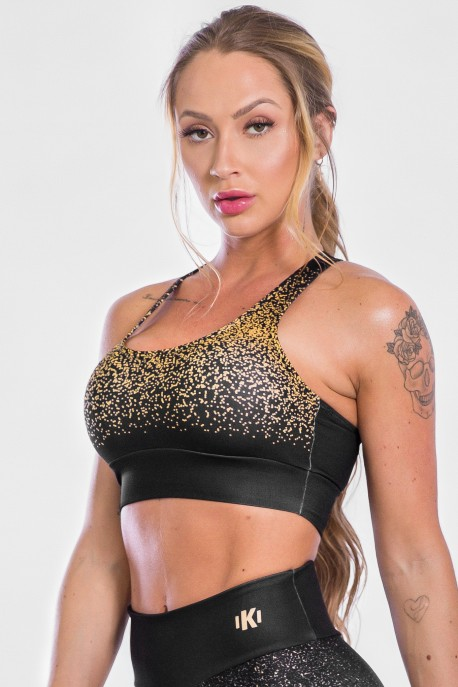 Top Sublimado Gold Confetti | Ref: K2319-A