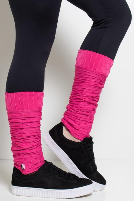 Polaina Tecido Bolha (Rosa Pink) | Ref: KS-F282-004
