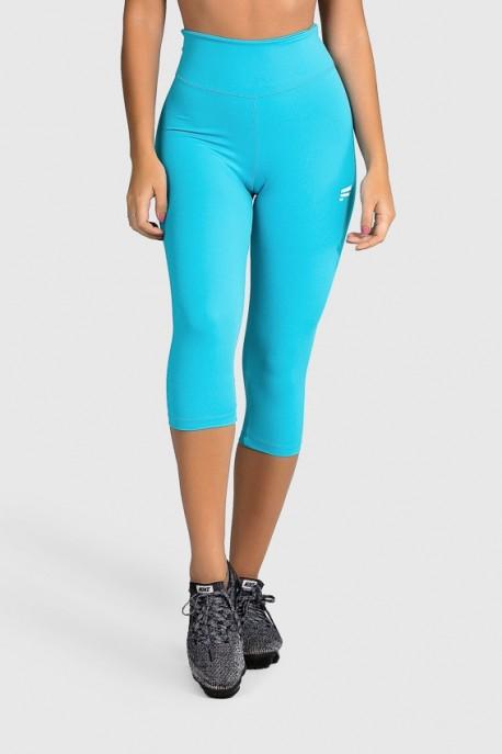 Calça Corsário Fitness Básica (Azul) | Ref: GO2-E