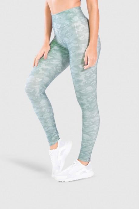 Calça Legging Fitness Estampa Digital Camouflaged Green   Ref: GO189-B