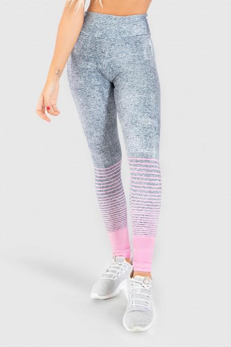 Calça Legging Fitness Estampa Digital Delicate Horizon   Ref: GO207