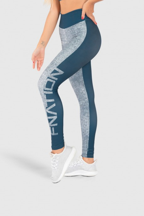 Calça Legging Fitness Estampa Digital Double Merge   Ref: GO197