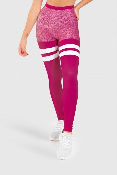 Calça Legging Fitness Estampa Digital Just Wine   Ref: GO407