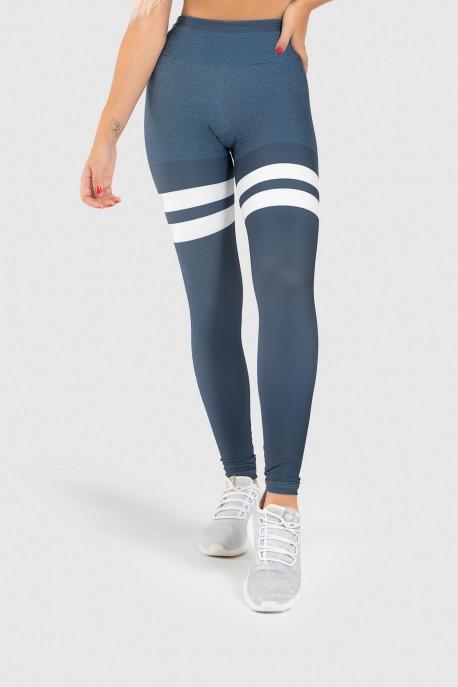 Calça Legging Fitness Estampa Digital United Lines   Ref: GO402