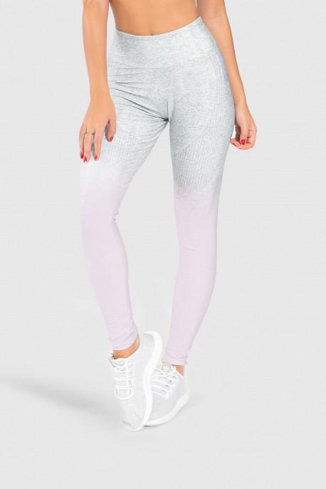 Calça Legging Fitness Estampa Digital Pinking Mix   Ref: GO195