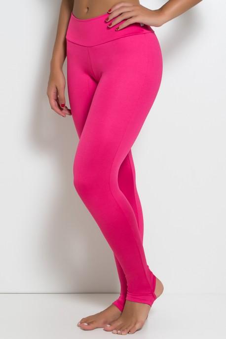 Legging Lisa com Pezinho (Rosa Pink) | Ref:F216-002