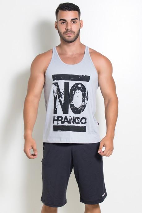 Camiseta Regata (No Frango) (Cinza)   Ref: KS-F525-004