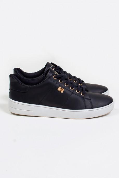 Tênis Mini Sneaker com Cadarço (Preto)   Ref: KS-T42-002