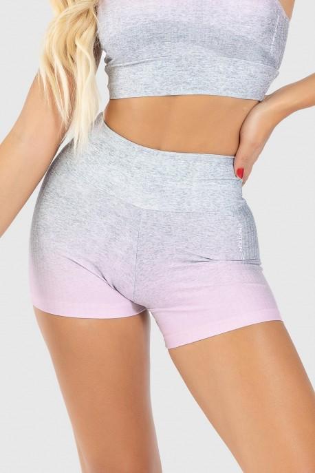 Short Fitness Estampa Digital Pinking Mix   Ref: GO194