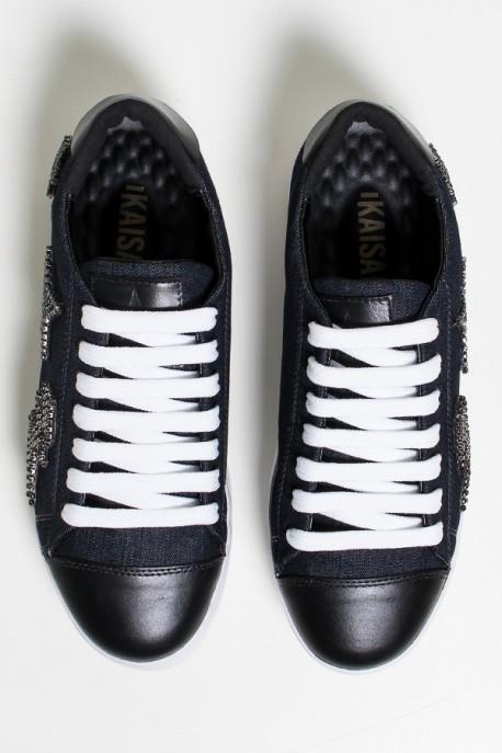 Tênis Bruni Patch (Jeans)   Ref: KS-T74-001