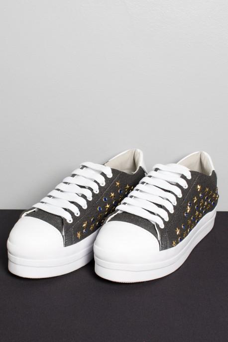 Tênis Bruni Star (Jeans)   Ref: KS-T75-001