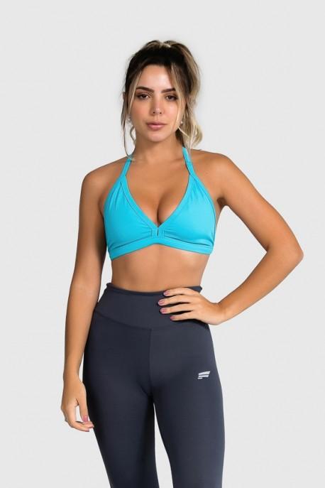 Top Básico Fitness (Azul) | Ref: GO7-E