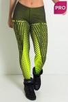 Legging Estampa Digital PRO (Raios Amarelo Neon) | Ref: NTSP11-001
