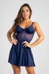 Camisola Romance (Azul Marinho) | Ref: P02-4-D