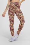 Legging Estampada Oncinha Amarela e Rosa | Ref: F27-092