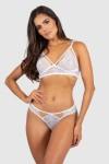 Conjunto Lingerie Isabela (Branco) | Ref: P03-5-A