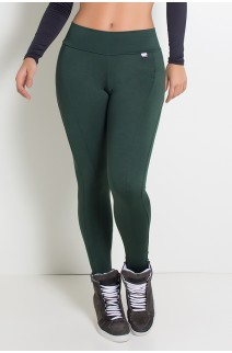 Calça Montaria  (Verde Escuro) | Ref: KS-F41-007