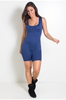 Macaquinho Carol (Azul Marinho) | Ref: KS-F329-004