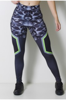 Calça Legging Sublimada Camo Tech  | Ref: CAL357-041