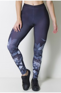 Calça Legging Sublimada Black Bush | Ref: CAL377-041