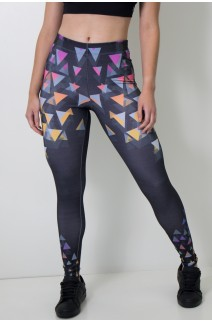 Calça Feminina Legging Sublimada Arrow Attack | Ref: CA390-041-000