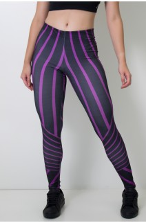 Calça Feminina Legging Sublimada Shape Mark | Ref: CAL396-041