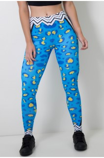 Calça Feminina Legging Sublimada Bluetiger | Ref: CAL399-041