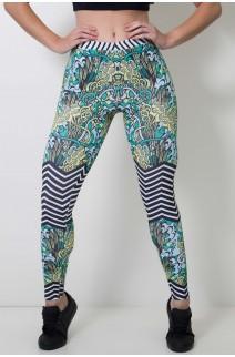 Calça Feminina Legging Sublimada Shrubs Style | Ref: CAL404-041