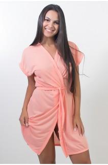 Robe de Malha 114 (Coral)  | Ref: CEZ-PA114-006