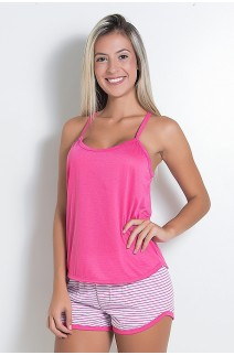 Babydoll Feminino 235 (Pink) CEZ-PA235-007