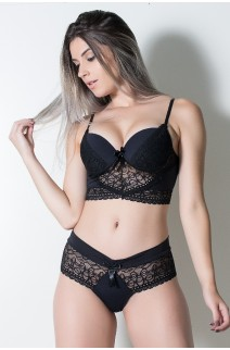 Conjunto Ana Clara 503 (Preto)   Ref: CEZ-TT503-001
