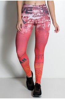 Legging Love Fitness Sublimada | Ref:F1939-001