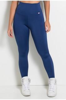 Legging Lisa Suplex Azul Marinho | Ref: KS-F23-007