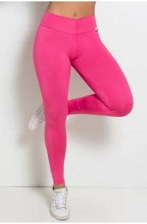 Calça Amanda com Cós em V (Rosa Pink) | Ref:F712-001