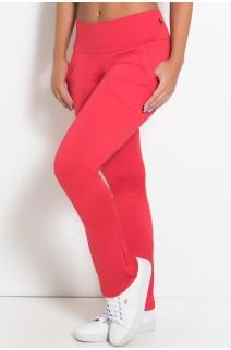 Calça Bailarina Isabel (Vermelho) | Ref: KS-F180-004