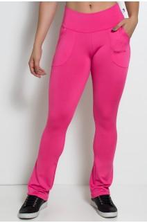 Calça Bailarina Isabel (Rosa Pink) | Ref: KS-F180-005