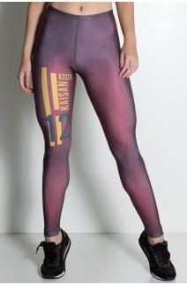 Legging Grid Sublimada | Ref: KS-F1959-001