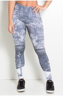 Legging Ancient Maps Sublimada | Ref: KS-F2010-001