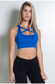 Cropped Ariela (Azul Royal) | Ref: KS-F610-004