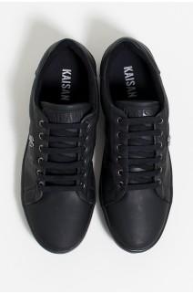 Tênis Mini Sneaker com Cadarço (Preto) | Ref: KS-T42-006