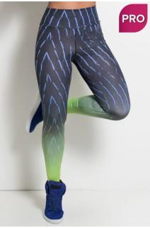 Legging Sublimada PRO (Traços com Neon) | Ref: NTSP21-001