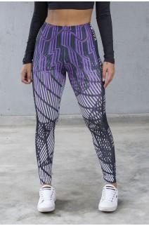 Legging Sublimada PRO (Ondas Neon) | Ref: NTSP33-001