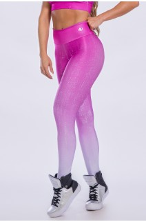 Calça Legging Sublimada (Purple Gradient) | Ref: K2298-A