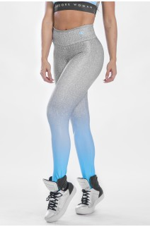 Calça Legging Sublimada Blue Fade | Ref: K2297-A